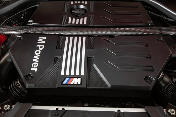 2020 BMW X4 M Competition Engine