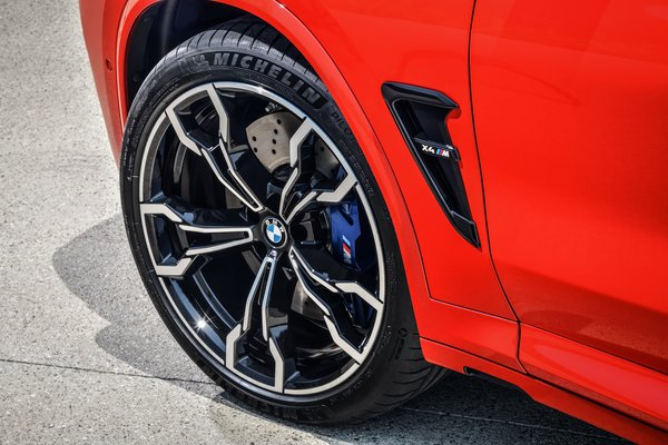 2020 BMW X4 M Competition Wheel
