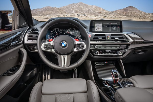2020 BMW X4 M Competition Instrumentation