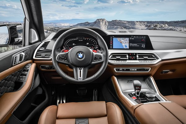 2020 BMW X5 M Competition Instrumentation