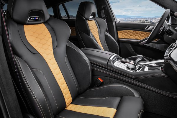2020 BMW X6 M Competition Interior