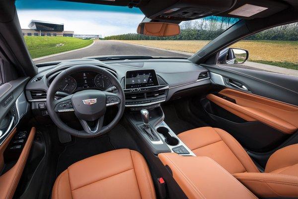 2020 Cadillac CT4 Premium Luxury Interior