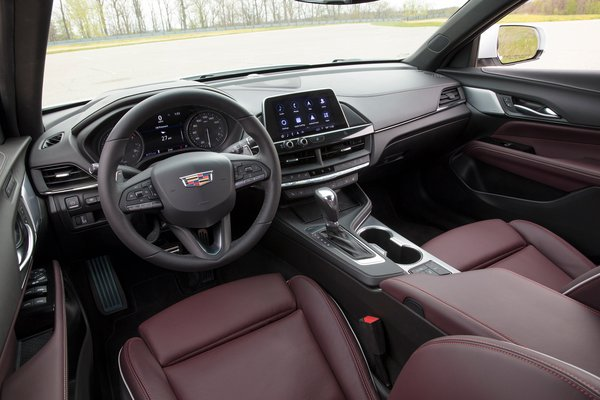 2020 Cadillac CT4 Sport Interior