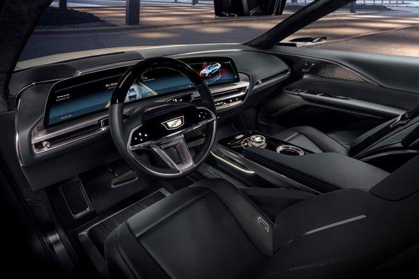 2020 Cadillac Lyriq Interior
