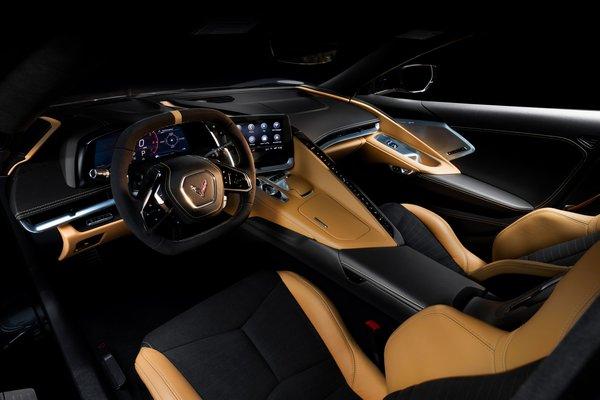 2020 Chevrolet Corvette Coupe Interior