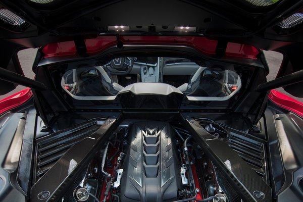 2020 Chevrolet Corvette Coupe Engine
