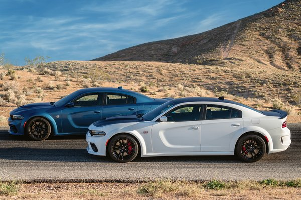 2020 Dodge Charger Scat Pack Widebody and SRT Hellcat Widebody