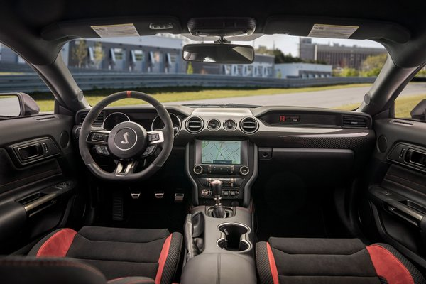 2020 Ford Mustang Shelby GT350R Interior