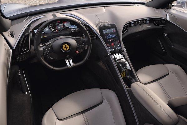 2020 Ferrari Roma Interior
