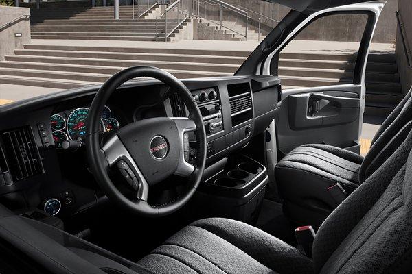 2016 GMC Savana Passenger Van Interior