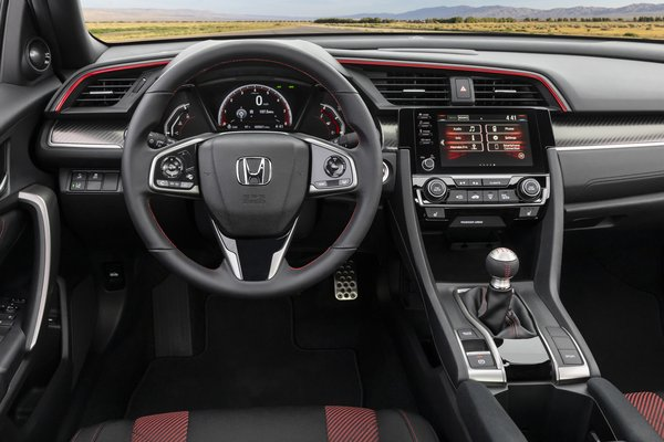 2020 Honda Civic Si sedan Instrumentation