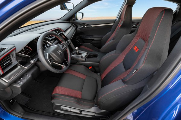 2020 Honda Civic Si sedan Interior