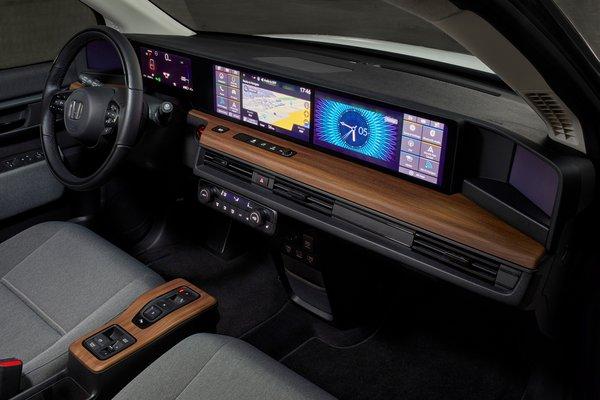 2020 Honda e Instrumentation