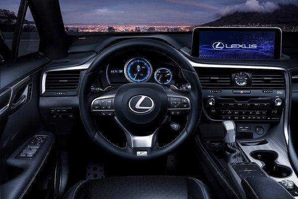 2020 Lexus RX 350 F Sport Instrumentation