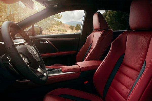 2020 Lexus RX 350 F Sport Interior
