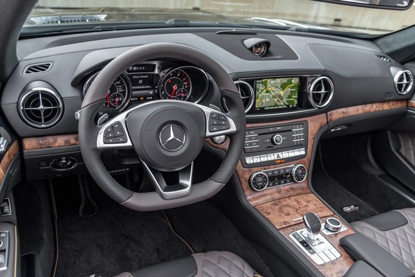 2020 Mercedes-Benz SL Grand Edition Interior