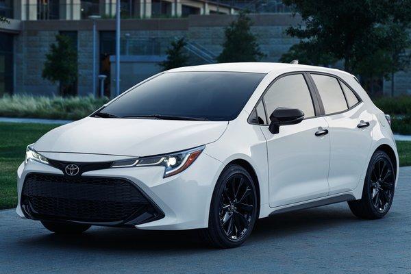 2020 Toyota Corolla Hatchback Nightshade edition