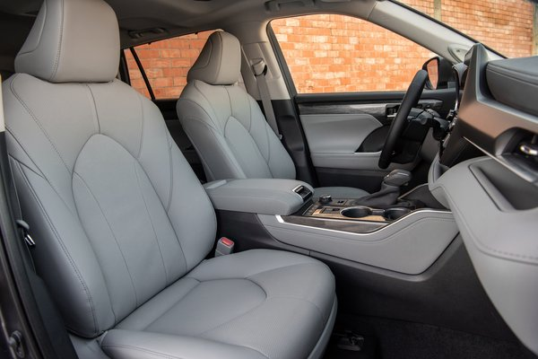 2020 Toyota Highlander Platinum Interior