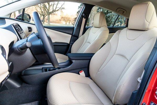 2020 Toyota Prius LE Interior