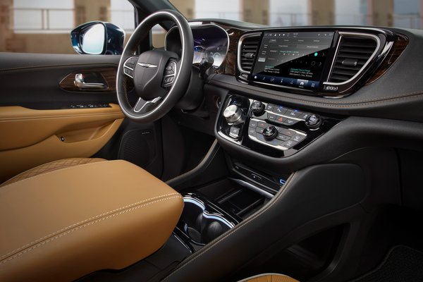 2021 Chrysler Pacifica Pinnacle Interior