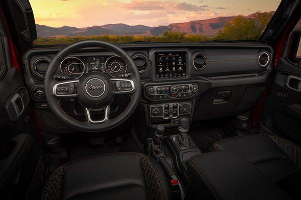 2020 Jeep Gladiator High Altitude Interior