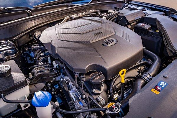 2020 Kia Cadenza Engine
