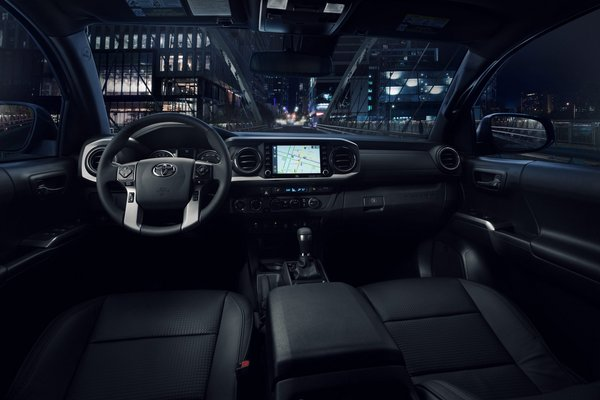 2021 Toyota Tacoma Nightshade edition Interior