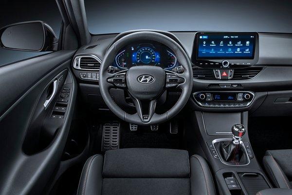 2021 Hyundai i30 N-line 5d Interior