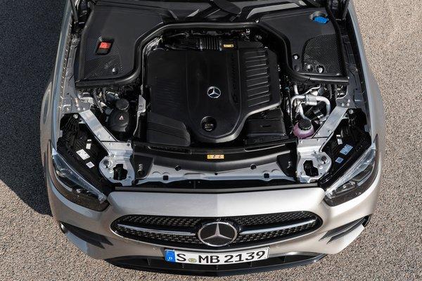 2021 Mercedes-Benz E-Class sedan Engine