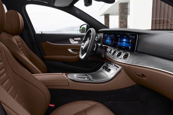 2021 Mercedes-Benz E-Class sedan Interior