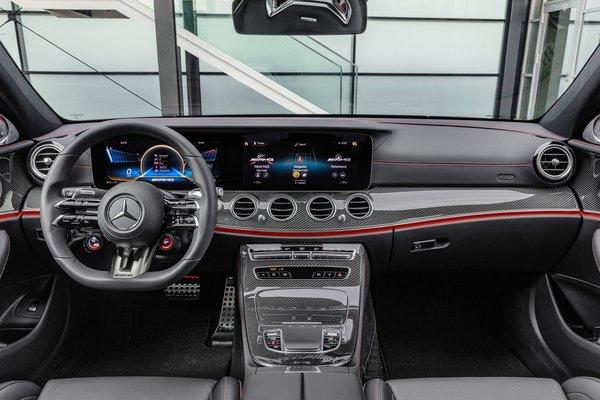 2021 Mercedes-Benz E-Class AMG E 53 sedan Instrumentation