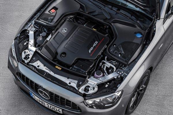 2021 Mercedes-Benz E-Class AMG E 53 sedan Engine