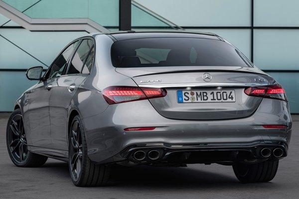 2021 Mercedes-Benz E-Class AMG E 53 sedan