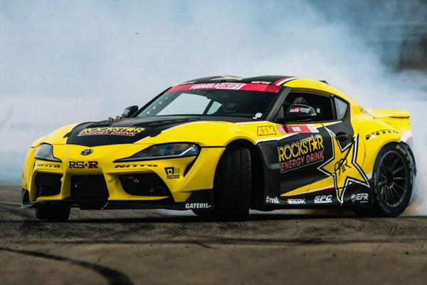 2020 Toyota Rockstar Energy Drink GR Supra by Papadakis Racing