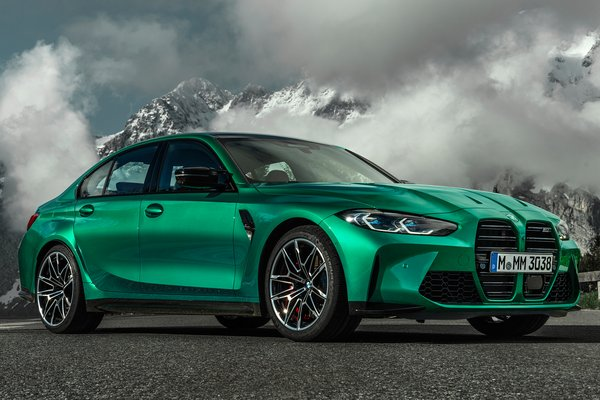 2021 BMW 3-Series M3 Competition Sedan
