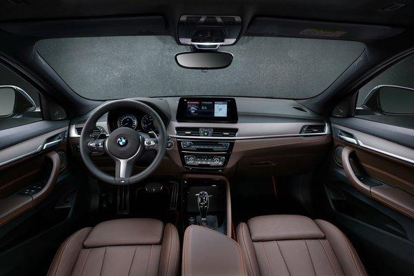 2021 BMW X2 Edition M Mesh Interior