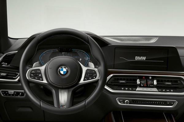 2021 BMW X5 xDrive45e iPerformance Instrumentation
