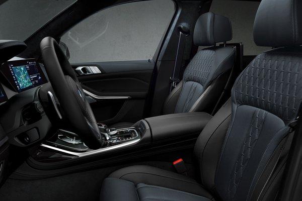 2021 BMW X7 Dark Shadow edition Interior