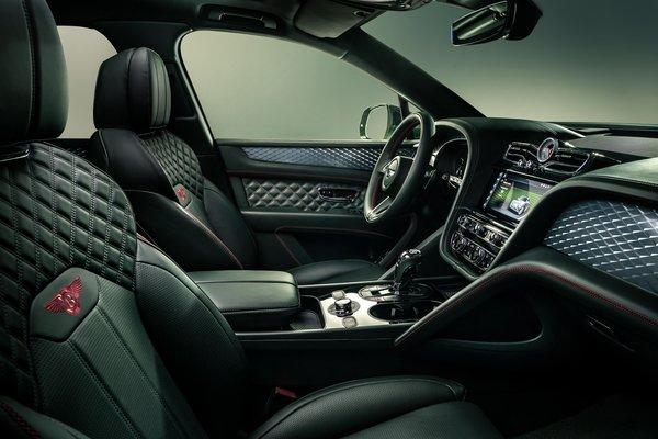 2021 Bentley Bentayga Interior