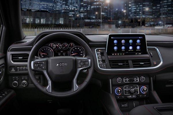 2021 Chevrolet Tahoe Instrumentation