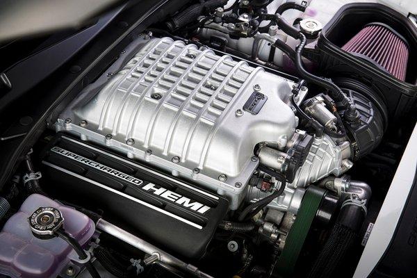 2021 Dodge Charger Hellcat Redeye Engine