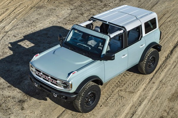 2021 Ford Bronco 4d