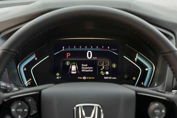 2021 Honda Odyssey Elite Instrumentation