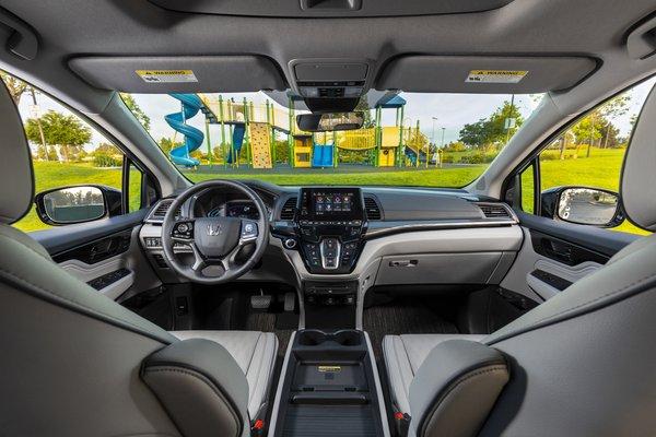 2021 Honda Odyssey Elite Interior