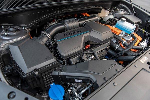 2021 Hyundai Santa Fe Hybrid Engine