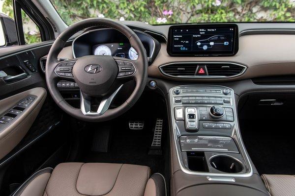 2021 Hyundai Santa Fe Instrumentation