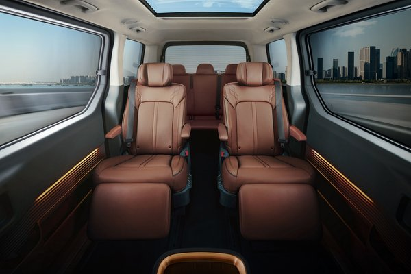 2021 Hyundai Staria Interior