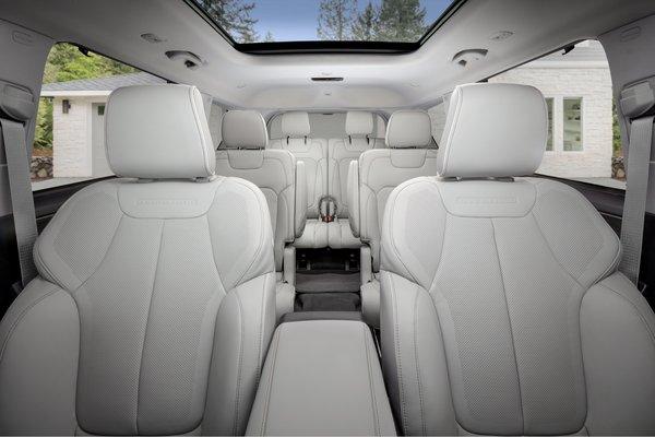 2021 Jeep Grand Cherokee L Overland Interior