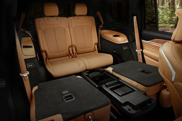 2021 Jeep Grand Cherokee L Summit Reserve Interior