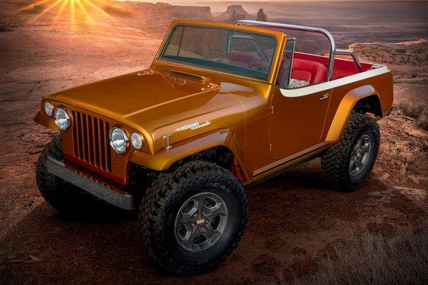 2021 Jeep Jeepster Beach